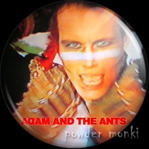"Adam Ant ""Kings Of The Wild Frontier"" - Album Cover Badge/Magnet"