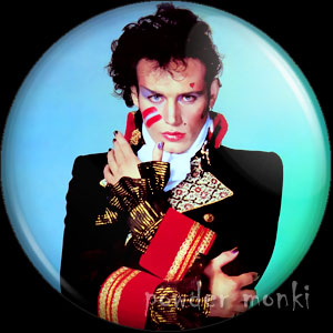 "Adam Ant ""Prince Charming"" - Retro Music Badge/Magnet"
