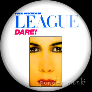 "Human League ""Dare"" - Album Cover Badge/Magnet"