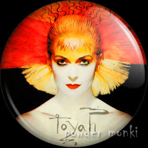 "Toyah ""Thunder in the Mountains"" - Retro Music Badge/Magnet"