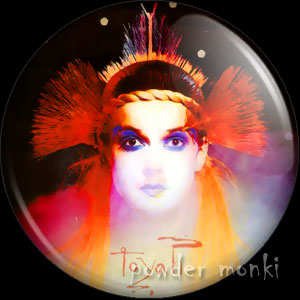 "Toyah ""Four More from Toyah"" - Retro Music Badge/Magnet"