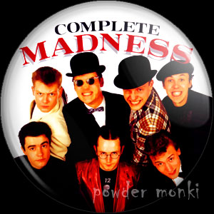 "Madness ""Complete Madness"" - Album Cover Badge/Magnet"