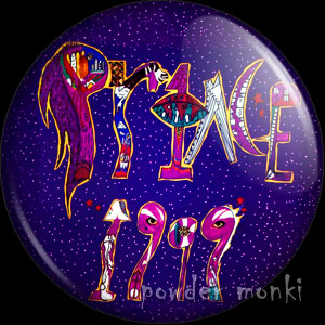 "Prince ""1999"" - Album Cover Badge/Magnet"