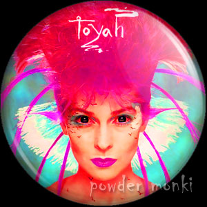 "Toyah ""Brand New World"" - Retro Music Badge/Magnet"