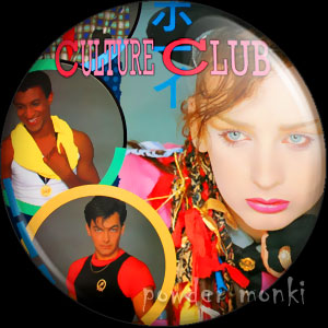 "Culture Club ""Colour By Numbers"" - Retro Music Badge/Magnet"