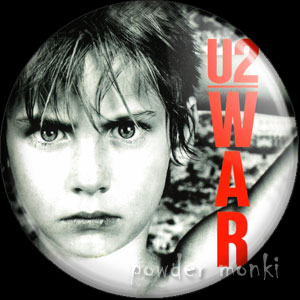 "U2 ""War"" - Retro Music Badge/Magnet"