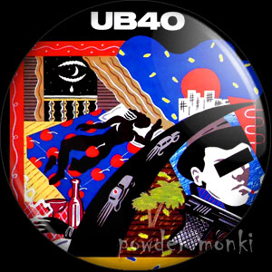 "UB40 ""Labour Of Love"" - Retro Music Badge/Magnet"