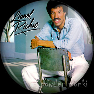 "Lionel Richie ""Can't Slow Down"" - Retro Music Badge/Magnet"