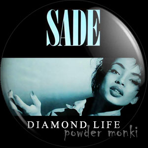 "Sade ""Diamond Life"" - Retro Music Badge/Magnet"