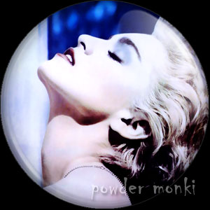 "Madonna ""True Blue"" - Retro Music Badge/Magnet"