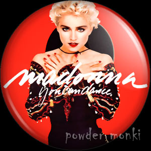 "Madonna ""You Can Dance"" - Album Cover Badge/Magnet"
