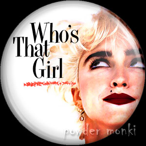 "Madonna ""Who's That Girl"" - Album Cover Badge/Magnet"