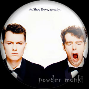 "Pet Shop Boys ""Actually"" - Album Cover Badge/Magnet"
