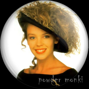 "Kylie Minogue ""Kylie"" - Retro Music Badge/Magnet"