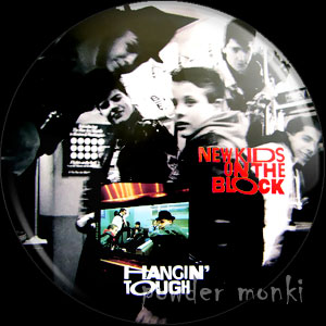 "New Kids On the Block ""Hangin' Tough"" - Retro Music Badge/Magnet"