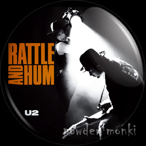 "U2 ""Rattle And Hum"" - Retro Music Badge/Magnet"