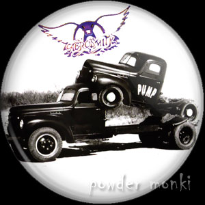 "Aerosmith ""Pump"" - Album Cover Badge/Magnet"