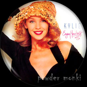 "Kylie Minogue ""Enjoy Yourself"" - Album Cover Badge/Magnet"