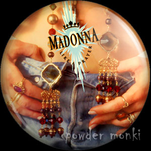 "Madonna ""Like A Prayer"" - Album Cover Badge/Magnet"