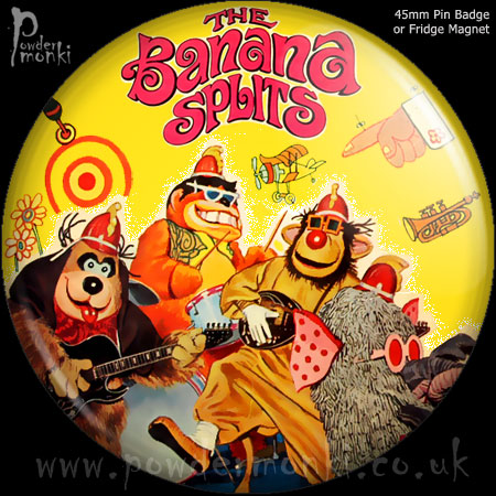 Banana Splits - Retro Cult TV Badge/Magnet [2]