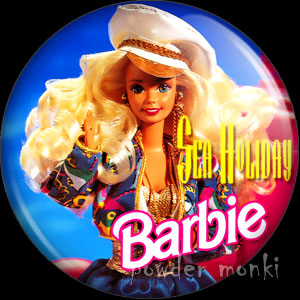 Sea Holiday Barbie - Badge/Magnet