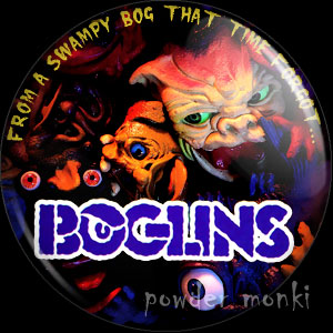 Boglins - Retro Toy Badge/Magnet