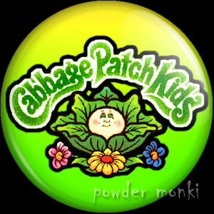 Cabbage Patch Kids - Retro Toy Badge/Magnet