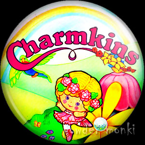 Charmkins - Retro Toy Badge/Magnet