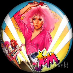 Jem & The Holograms - Retro Toy Badge/Magnet 1