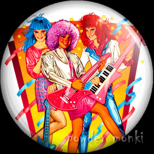 Jem & The Holograms - Retro Toy Badge/Magnet