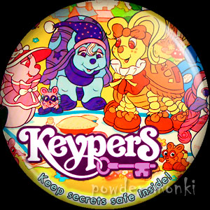 Keypers - Retro Toy Badge/Magnet