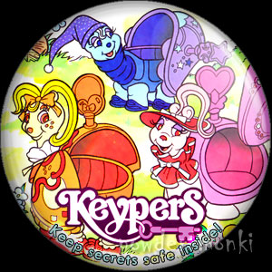 Keypers - Retro Toy Badge/Magnet 3