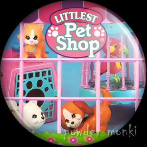 Littlest Pet Shop - Retro Toy Badge/Magnet
