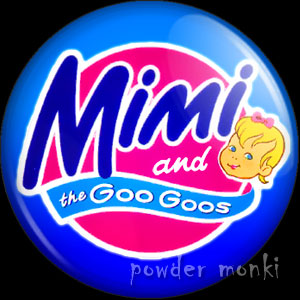 Mimi & the Goo Goos - Retro Toy Badge/Magnet
