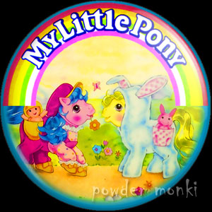 "My Little Pony Y4 ""Baby Pony Wear"" 3 - Retro Toy Badge/Magnet"