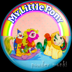 "My Little Pony Y4 ""Baby Pony Wear"" 4 - Retro Toy Badge/Magnet"