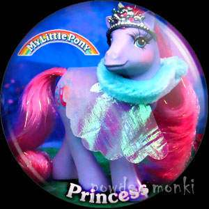 "My Little Pony Y9 ""Princess"" - Retro Toy Badge/Magnet"