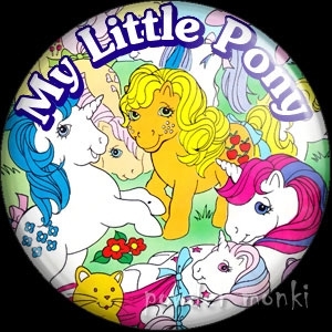 My Little Pony - Retro Toy Badge/Magnet 1