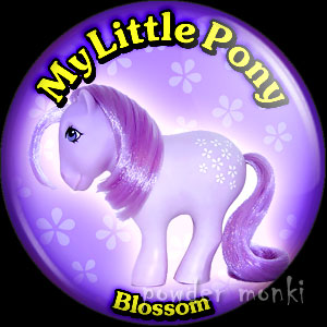 "My Little Pony Y1 ""Blossom"" - Retro Toy Badge/Magnet"
