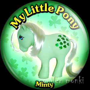 "My Little Pony Y1 ""Minty"" - Retro Toy Badge/Magnet"