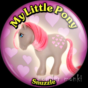 "My Little Pony Y1 ""Snuzzle"" - Retro Toy Badge/Magnet"