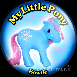 "My Little Pony Y2 ""Bowtie"" - Retro Toy Badge/Magnet"