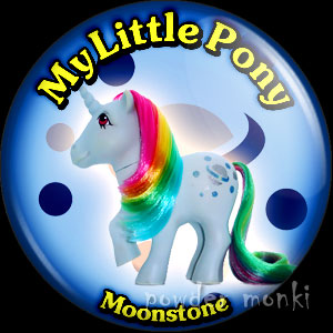 "My Little Pony Y2 ""Moonstone"" - Retro Toy Badge/Magnet"