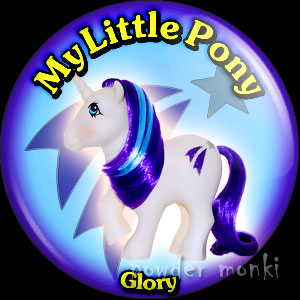 "My Little Pony Y2 ""Glory"" - Retro Toy Badge/Magnet"