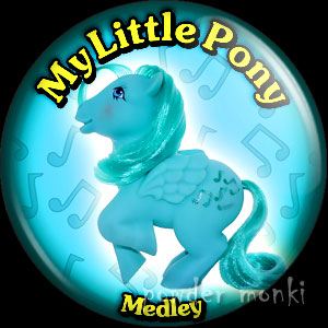 "My Little Pony Y2 ""Medley"" - Retro Toy Badge/Magnet"