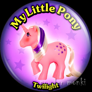 "My Little Pony Y2 ""Twilight"" - Retro Toy Badge/Magnet"