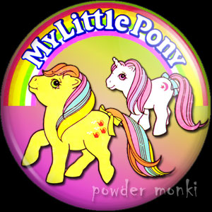 My Little Pony - Retro Toy Badge/Magnet 2