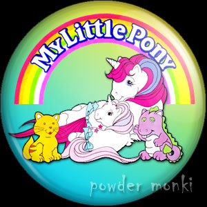 My Little Pony - Retro Toy Badge/Magnet 3