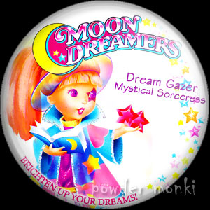 "Moon Dreamers ""Dream Gazer"" - Retro Toy Badge/Magnet"