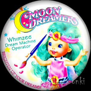 "Moon Dreamers ""Whimzee"" - Retro Toy Badge/Magnet"
